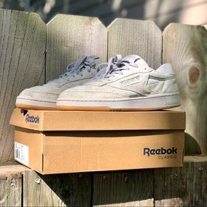 Workout Plus IT suede classic reeboks